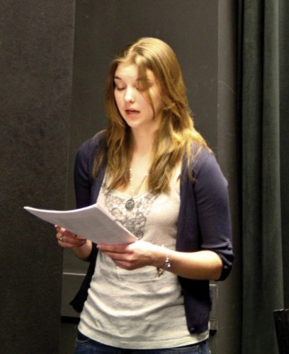 """""""The Antigone Project Revisited: War is War"""" rehearsal 2011"""