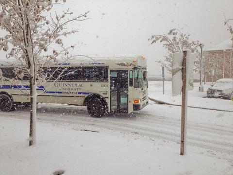 Snow at York Hill