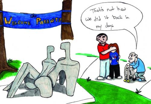 statue comic