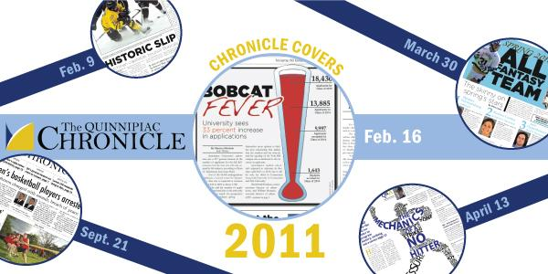 Chronicle covers of 2011 Using the 27 covers of the Chronicle's print editions in 2011, we look back on the year that was. This gallery features all of the front and back pages from 2011.  --Compiled by Samantha Epstein, Joe Addonizio and Tim O'Donnell
