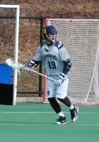 Quinnipiac vs. Vermont men's lacrosse scrimmageQuinnipiac's Paul Stevenson gets into position in Sunday's scrimmage.