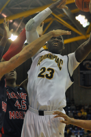 Quinnipiac 73, Robert Morris 69Quinnipiac's Ousmane Drame goes for a layup in the second half of Saturday's game.