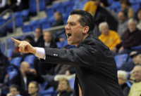 St. Francis (N.Y.) 64, Quinnipiac 56Quinnipiac head coach Tom Moore yells to his team in the second half of Thursday's game vs. St. Francis (N.Y.).