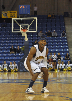 St. Francis (N.Y.) 64, Quinnipiac 56Quinnipiac guard James Johnson grimaces after he releases a 3-point shot late in the second half in Thursday's game vs. St. Francis (N.Y.).