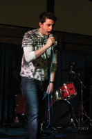 Battle of the BandsChris Lauletti performs at Battle of the Bands.