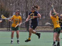 Vermont 18, Quinnipiac 9Quinnipiac's Lianne Toomey takes a shot in the first half of Wednesday's game vs. Vermont.