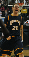 LIU-Brooklyn 78, Quinnipiac 75Quinnipiac's Evan Conti reacts after a basket in the first half of Sunday's game vs. LIU-Brooklyn.