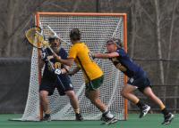 Vermont 18, Quinnipiac 9Quinnipiac's Kelsey Maroney guards Vermont's Samantha Stern in the first half of Wednesday's game.