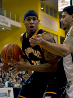 LIU-Brooklyn 78, Quinnipiac 75Quinnipiac's Jamee Jackson controls the ball near the post in the first half of Sunday's game vs. LIU-Brooklyn.