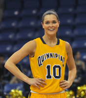Quinnipiac 65, Mount St. Mary's 61Quinnipiac's Kari Goodchild looks on during a free throw in the second half of Saturday's game vs. Mount St. Mary's.