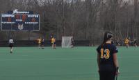 Vermont 18, Quinnipiac 9Quinnipiac's Sarah Allen looks on in the second half of Wednesday's game vs. Vermont.
