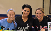 Bone Marrow DriveSisters of Kappa Alpha Theta, Thursday at Burt Kahn for their bone marrow registry event.