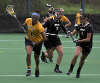 Bryant 8, Quinnipiac 6Quinnipiac's Chelsea Guerrera runs downfield in the second half of Sunday's game vs. Bryant.