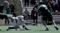 Quinnipiac 15, Wagner 5Quinnipiac's Dylan Webster fights for the ball in the second quarter of Saturday's game vs. Wagner.