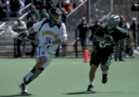 Quinnipiac 15, Wagner 5Quinnipiac's Chris Messina controls the ball in the second quarter of Saturday's game vs. Wagner.