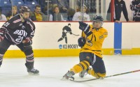 By defeating the Brown Bears in a three-game-series, two games to one in the first round of the ECAC Hockey Tournament, Quinnipiac is the only team to win a playoff series each year in the conference since joining the ECAC in the 2005-06 season.  Sophomores Connor and Kellen Jones were awarded team MVP honors at the end of the year, while freshman Matthew Peca was named the team's Rookie of the Year. Connor finished with 41 points off of 13 goals and 28 assists while Kellen had 36 points on 14 goals and 22 assists. Peca joined the twins line late in the season and added 39 points off of eight goals and 31 assists. - Giovanni Mio