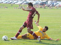 Boston College 2, Quinnipiac 1Quinnipiac's Marijan Jurac makes a tackle during Friday's game vs. Boston College.