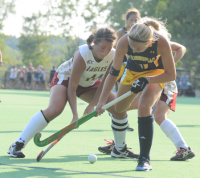 Boston College 2, Quinnipiac 0Quinnipiac's Emily Vandeputte controls the ball in Friday's game vs. Boston College.