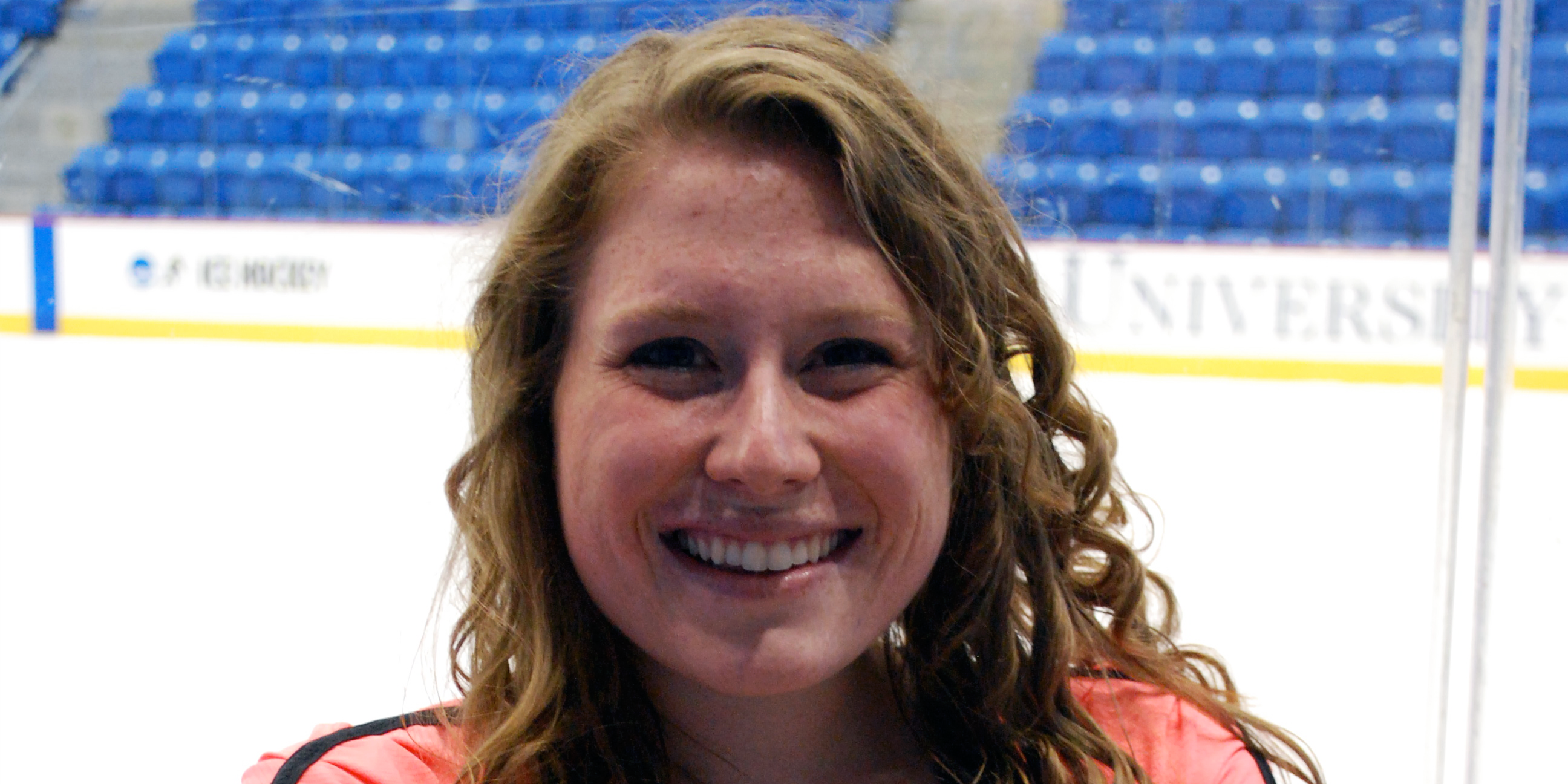 Senior Meghan Speranzo was a competitive skater for 17 years.