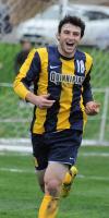 Quinnipiac 2, CCSU 1Quinnipiac's Robbie McLarney celebrates after scoring a penalty kick in Friday's game vs. CCSU.