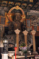 A Buddha statue at Kencho-Ji.