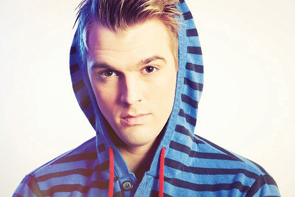 One of our favorite tween stars, Aaron Carter, will be on stage at Toads Place, Wednesday, Feb. 27, at 8 p.m.
