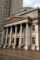 The Bank of Montreal exemplifies the architecture based off of many European and classic influences which is seen and revered throughout the city.