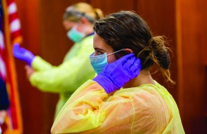 Ebola Training School of Nursing 2014