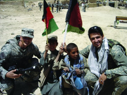 Jason, Afghan Interpreter Nick (no kid names)
