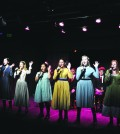 The cast of 'Spring Awakening' will perform four times this weekend