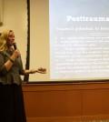 Scarlett Lewis spoke at Quinnipiac on Nov. 17.