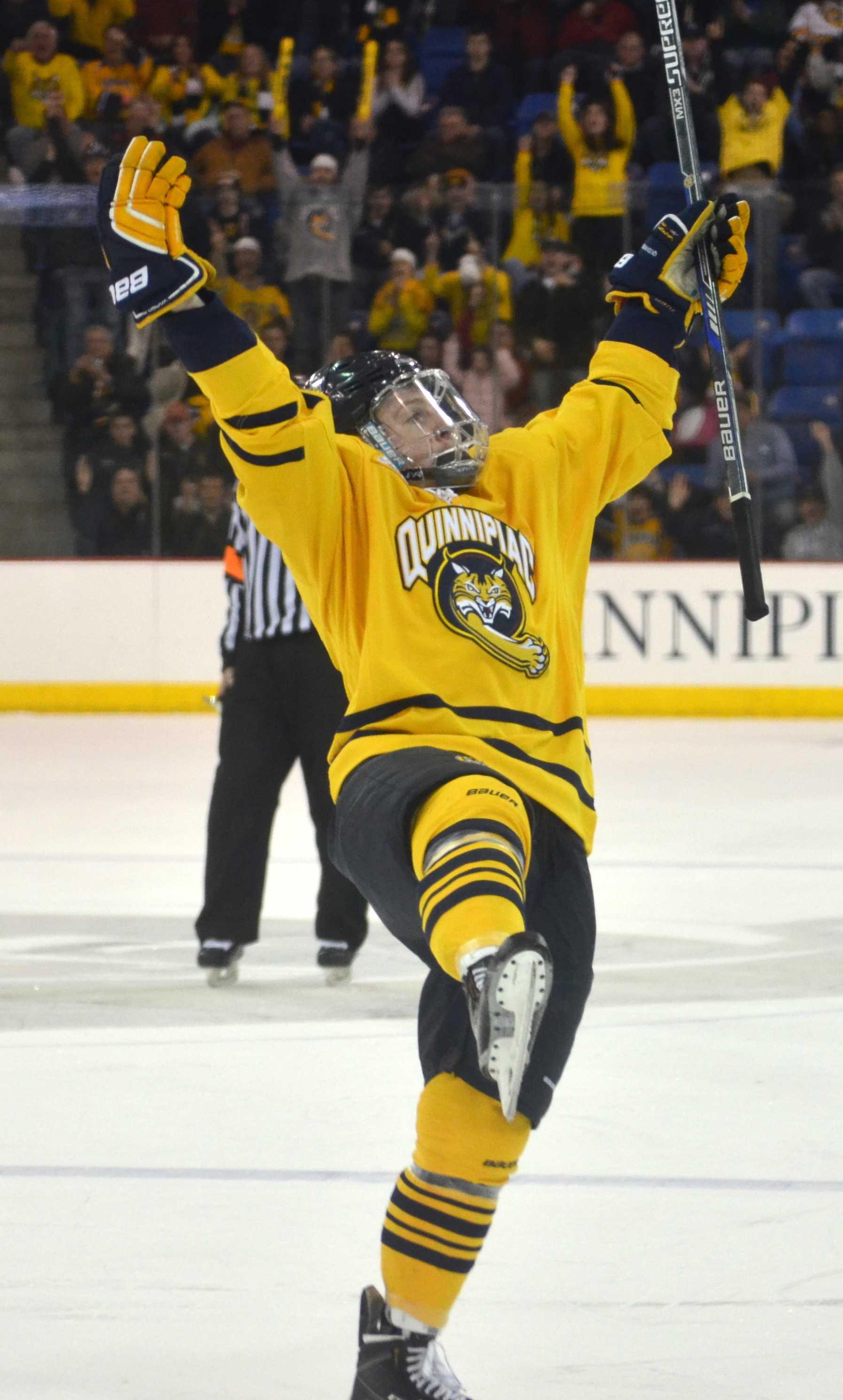 Men's ice hockey tops Yale in regular season finale | The ...
