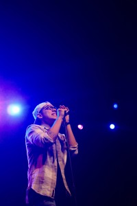 William Singe was the opening act for this years Wake the Giant spring concert.