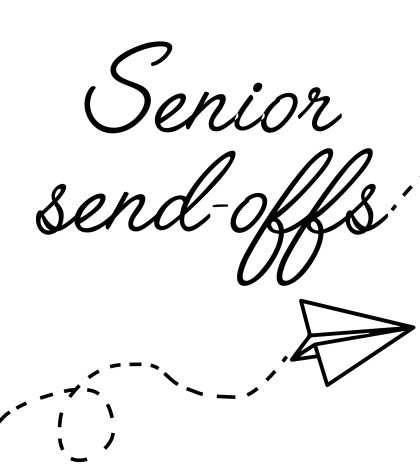Senior send-off thing for website