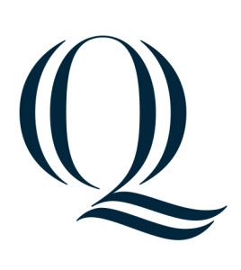 """The """"Q"""" is the most prominent piece of the new brand identity."""