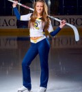 Sophomore Jackie Gray was a member of the Quinnipiac Ice Cats.