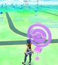 People playing Pokemon Go on their smart phones can visit Pokestops, which are usually located on local monuments or buildings.
