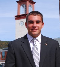 Quinnipiac University College Republicans Chairman, Kevin Casserino.