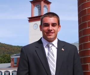 Quinnipiac University College Republicans Chairman, Kevin Casserino.