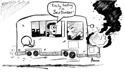 Comic by Ossama Awan