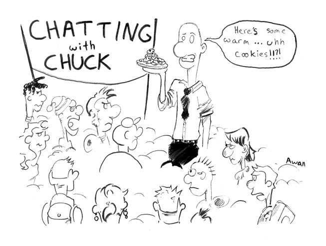 Chatting with Chuck