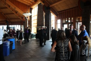 Members of the Quinnipiac community,  relatives and friends of Kevin Basmadjian attended a luncheon on Saturday Oct. 29  in memory of  him.