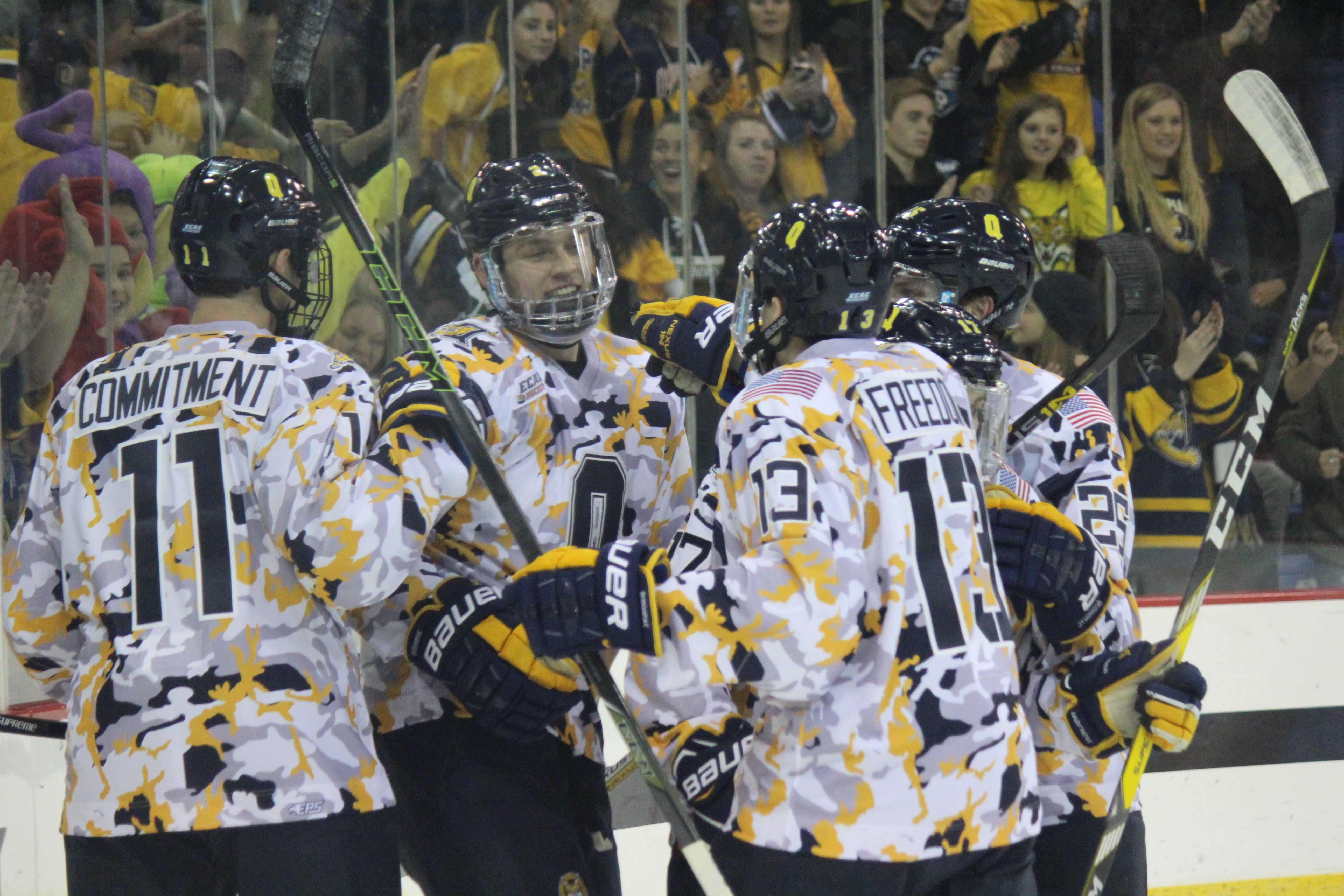 ECAC: Dartmouth Hockey Drops First Of The Season At Quinnipiac