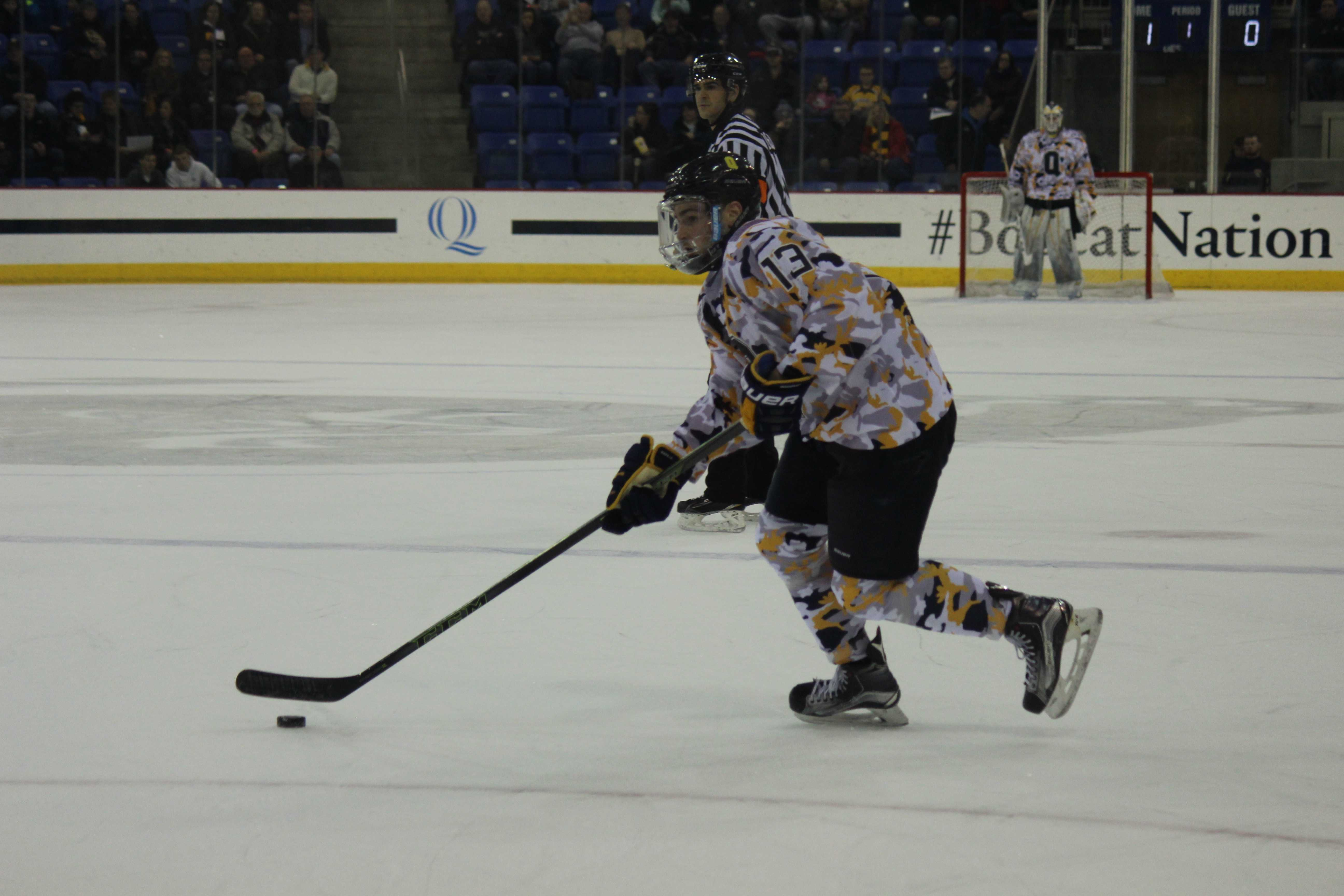 Men's ice hockey drops close contest to Clarkson | The ...