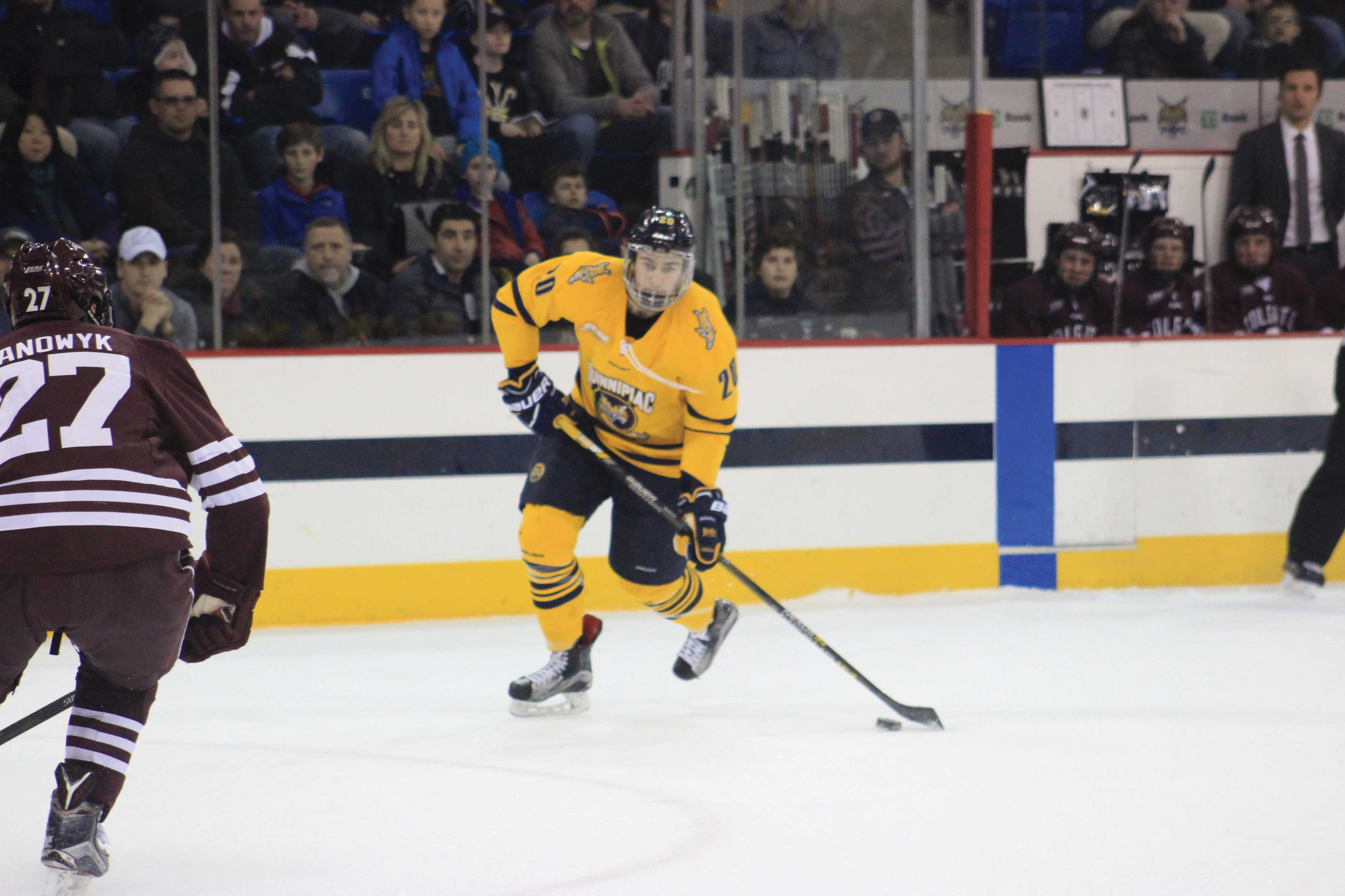 Men's ice hockey team takes Game 2 at St. Lawrence | The ...