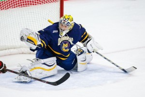 Ives save (QU Athletics)